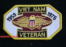 VIETNAM VETERANS HAT PATCH US ARMY MARINES NAVY AIR FORCE PIN UP VETERAN GIFT