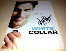 "WHITE COLLAR PP SIGNED 12""X8"" A4 PHOTO POSTER  MATT BOMER"
