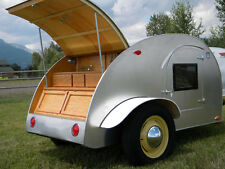 Build your own 8' Teardrop Camper Trailer (DIY Plans) Fun to build!