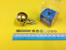 Surecatch Medium Size Light Gold Handle Round Knob for Shimano Spinning Reels.