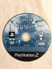 The Lord Of The Rings The Two Towers (disc) - PS2 Playstation 2*