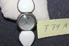 Lucky Brand 16/1141SVWT White and Silver Tone Bracelet Women's Watch F79-A