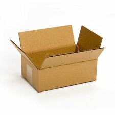 25 Pack 8x6x4 Cardboard Box Packing Shipping Mailing Storage Flat Cartons Moving