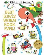Best Lowly Worm Book Ever! by Richard Scarry (2014, Hardcover)