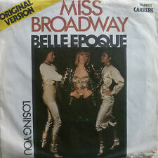 "7"" 1977 PARTY culto! belle EPOQUE: Miss Broadway/VG + \"
