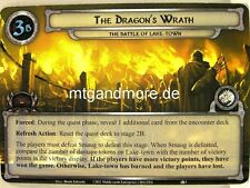 Lord of the Rings LCG  - 1x The Dragon's Wrath  #003 - The Battle of Lake-Town