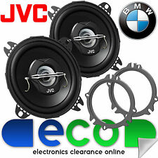 BMW 3 Series E90 JVC 10cm 420 Watts Front or Rear Door Car Speakers & Brackets