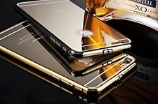 iPhone 6S :Gold Luxury fashion mirror ultra slim metal case with aluminum frame