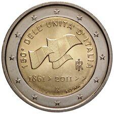 Italia   2€ 2011 150 anni unita' d'Italia   FDC