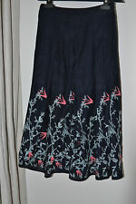 NEW MARKS AND SPENCER PER UNA EMBROIDERED SKIRT SIZE 8 £49.50