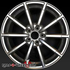 "18x8"" Audi A4 OEM Wheel 15 16 Silver Alloy Stock Rim 58956 part 8K0601025BQ V14"