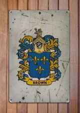 Blackburn Coat of Arms A4 Aged Retro 10x8 Metal Sign Aluminium Heraldry