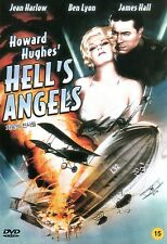 Howard Hughes Hell's Angels - Jean Harlow Ben Lyon James Hall (NEW) Classic DVD