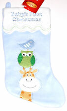 "Baby's First Christmas Stocking,16"" Long, New w/Tag!"