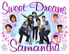 ONE DIRECTION Personalized Pillowcase Any Name Sweet Dreams SuperSoft Great Gift