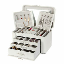 Large Jewellery Box Ring Bracelet Armoire Cabinet ROWLING Necklace Gift Case