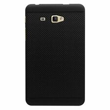Dotted Superior Quality Soft Back Cover Case for Samsung Galaxy J Max - Black