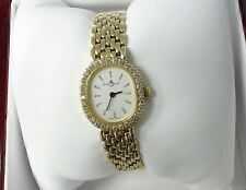 Baume & Mercier 14k Solid Gold and Diamond Watch