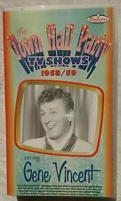 "VHS Gene Vincent ""The Town Hall Party TV Shows 1958/59"""