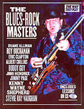 The Blues-rock Masters (Way They Play), New, Maloof, Richard, Newquist, H. P. Bo