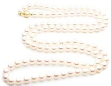 $11,699 Pacific Pearls® AAA 7.5-8mm Japanese Akoya Saltwater Pearl Necklace