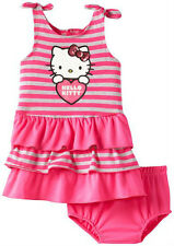 Hello Kitty Baby Girl Dress with Diaper Set