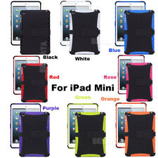 For Apple iPad Military Heavy Duty Hybrid Shock Dust Proof Case Cover + Film.A