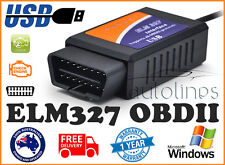 OBD2 OBDII ELM327 V1.5 USB Diagnostic Scanner PC Engine Scan Tool Code Reader