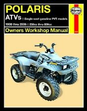 HAYNES SERVICE MANUAL POLARIS 2508 SPORTSMAN 500 1998-1999, 2000-2001, 2004