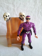 Lee Falk's The Phantom 1995 Action Figure w/ Skull Throne RARE Ghost Who Walks
