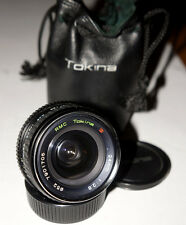 Tokina RMC 24 mm F/2.8 RARE Wide Angle Lens From JAPAN CONTAX YASHICA C/Y mount