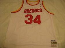 Hakeem Olajuwon Houston Rockets Jersey Mitchell & Ness Men 56 3X 3XL XXXL