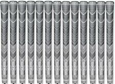 Golf Pride MCC PLUS4 Grey Golf Grips - MIDSIZE - Set of 13