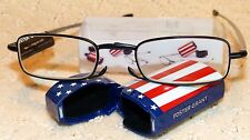 Foster Grant Compact Folding Reading Glasses +1.50 Micro-Reader US FLAG EDITION