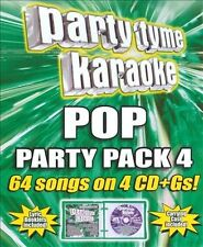 PARTY TYME KARAOKE - GIRL POP PARTY PACK 4 [610017445123] NEW CD FREE SHIPPING