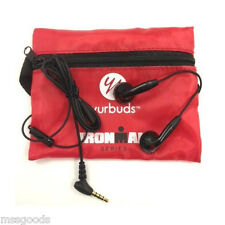 YURBUDS IRONMAN BLACK INSPIRE PERFORMANCE FIT EARPHONES EARBUDS SPORT ATHLETE