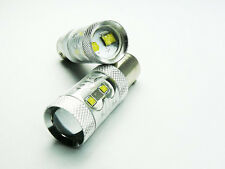 P21/5W 380 BAY15d WHITE 50W CREE LED REAR FOG CAR BULBS A