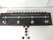 VOODOO LABS PEDAL SWITCHER TRUE BYPASS FOOTSWITCH EFFECTS LOOP FREE SHIPPING