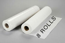 """8 Rolls Disposable Bed Table Rolls Sheets for Massage Facial Waxing 24"""" x 330'"""