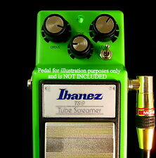 IBANEZ ts9 TUBE SCREAMER PEDALE to ts808 con interruttore a caldo KIT FAI DA TE MOD