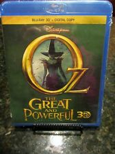Oz the Great and Powerful(Blu-ray Disc,Includes Digital Copy 3D) NEW/FREE SHIP