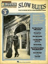Slow Blues Sheet Music Blues Play-Along Book and CD NEW 000843108