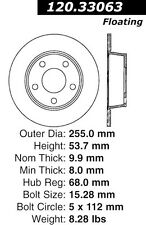 Disc Brake Rotor-High Performance Drilled And Slotted fits 97-03 Audi A6 Quattro