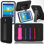 "Hybrid Rugged Stand Cover Case for Samsung Galaxy Tab 3 7 7.0"" T210 P3200 P3210"