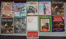 11 book American History Study Lesson Activities Constitution Civil War
