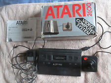BOXED ATARI 2600 BLACK 'JUNIOR' CONSOLE - WORKING - RARE - IRELAND - BUNDLE