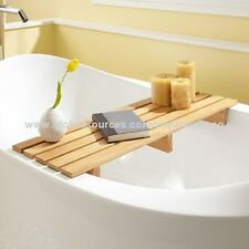 Natual bamboo bathtub caddy ,Bath Bridge Caddy Tidy Tub Tray,magazine,laptop set