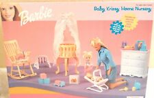 1999 Barbie Baby Krissy Home Nursery #67791-91 New In Box NRFB Made By Mattel