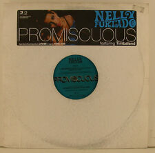 "NELLY FURTADO - PROMISCUOUS FEATURING TIMBALAND 12"" MAXI SINGLE (j22)"