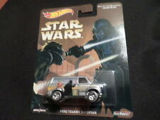 2016 HOT WHEELS STAR WARS HW HOTWHEELS FORD TRANSIT SUPERVAN  SILVER VHTF RARE